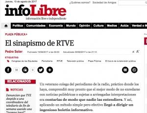 El sinapismo de RTVE